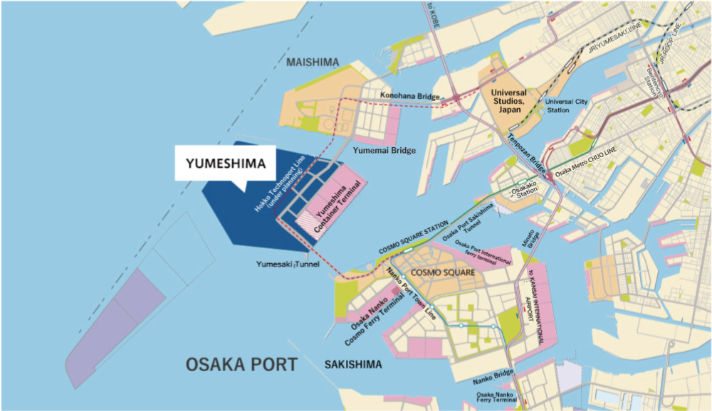 Yumeshima|Business Areas|INVEST OSAKA