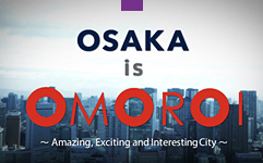 Learn about Osaka by video